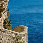 Hotel with sea view in Capri