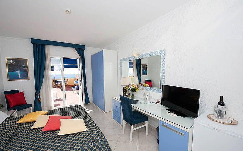 Hotel Weber in Capri - Zimmer mit Meerblick