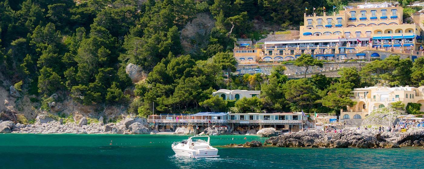 Weber Hotel Capri Italy The Hotel On The Beach